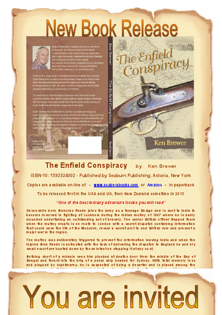 viewer - Enfield Conspiracy cover