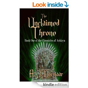 Unclaimed Throne Alison Dormaar